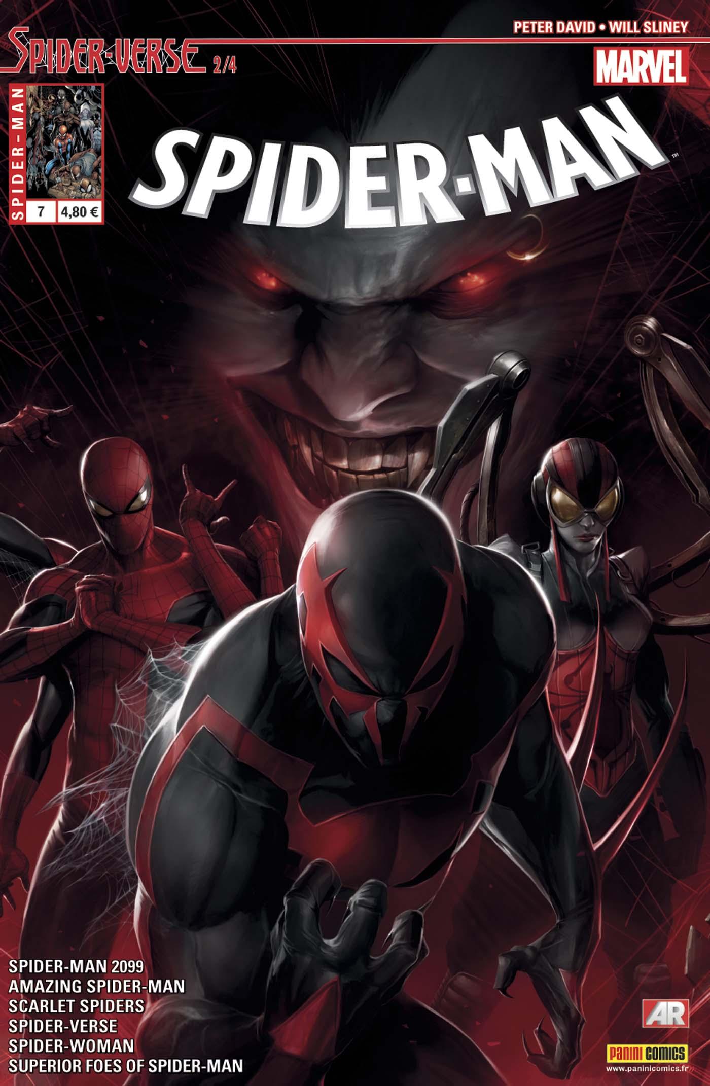 SPIDER-MAN 7 : SPIDER-VERSE 2 (sur 4)