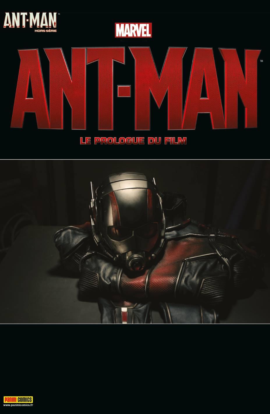 ANT-MAN HORS SÉRIE 1 : LE PROLOGUE DU FILM