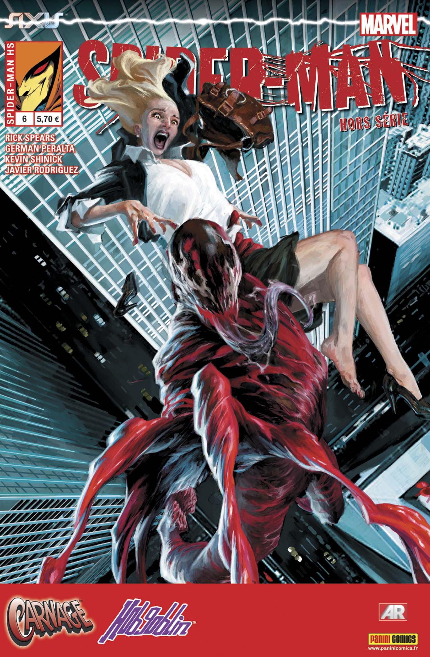 SPIDER-MAN HORS SÉRIE 6 : AXIS - CARNAGE & LE SUPER-BOUFFON