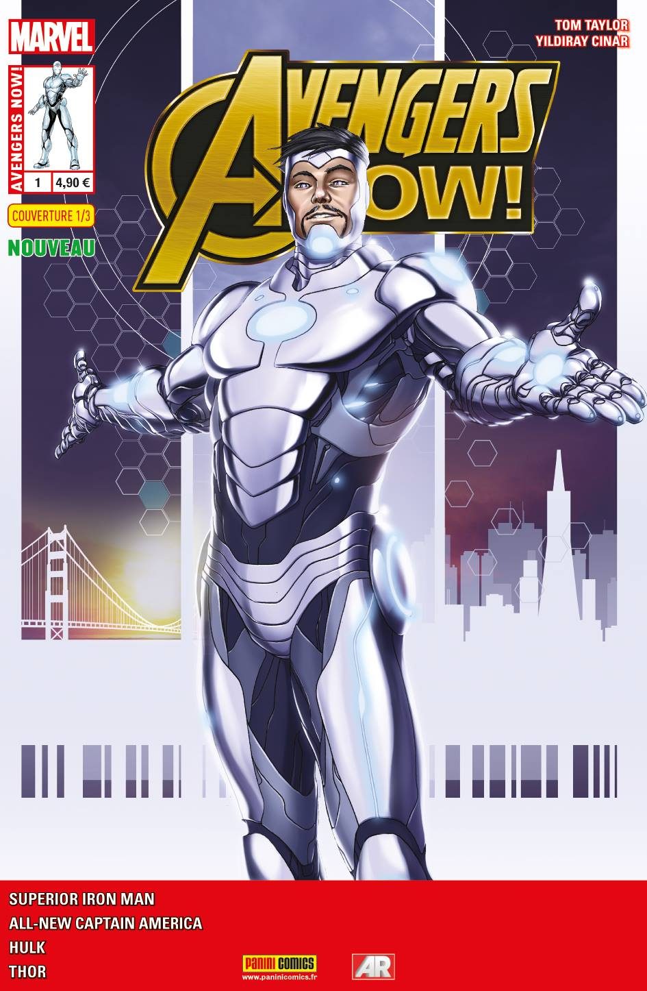 AVENGERS NOW 1 (Couv 1/3)