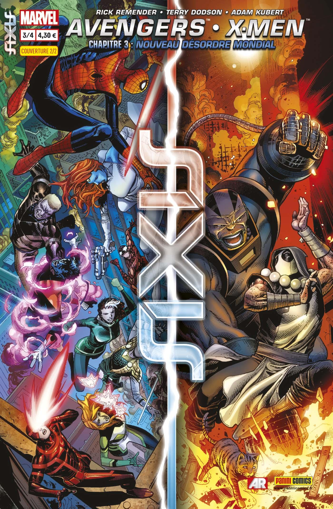 AVENGERS & X-MEN : AXIS 3 (sur 4, couv 2/2)