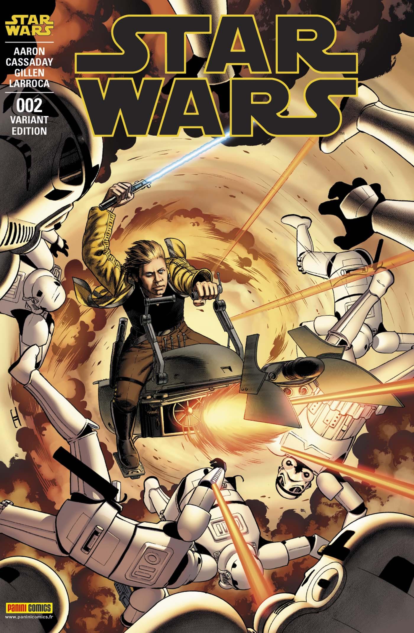 STAR WARS 2 (Couv B)