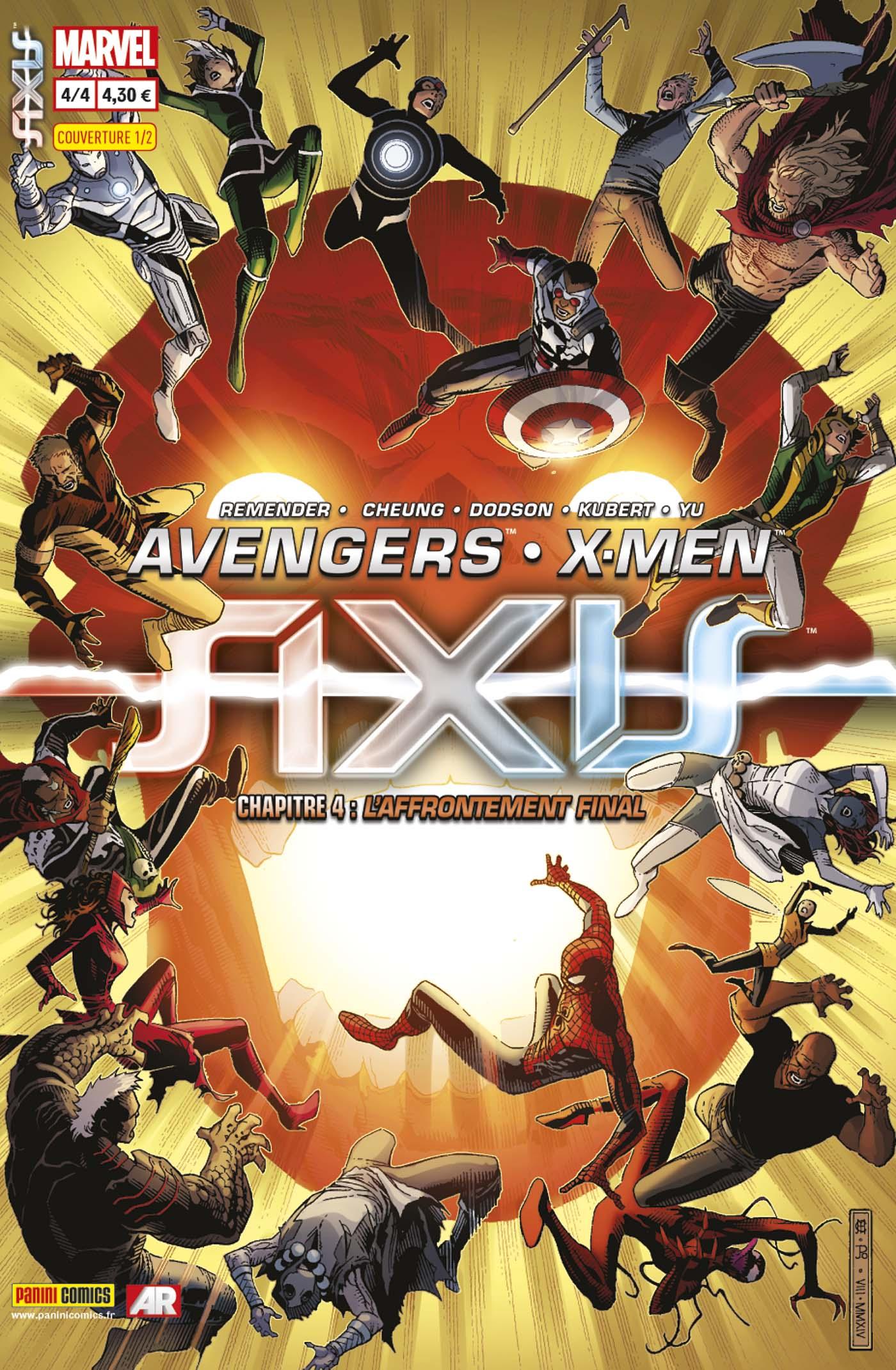 AVENGERS & X-MEN : AXIS 4 (sur 4, couv 1/2)