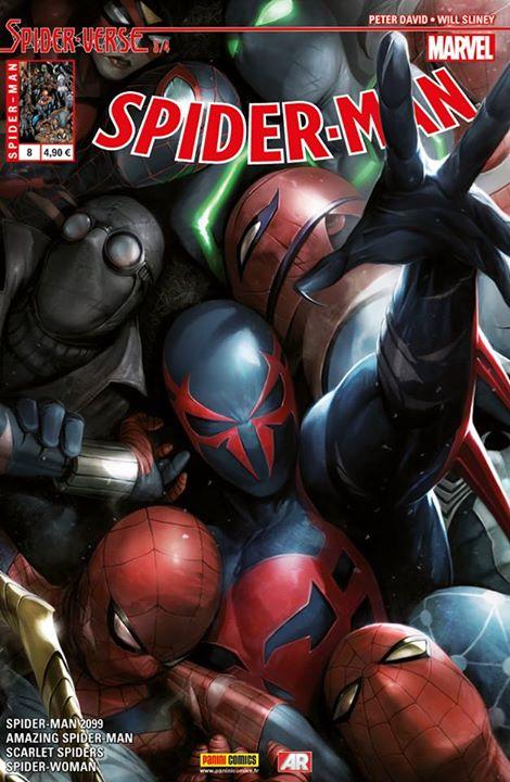 SPIDER-MAN 8 : SPIDER-VERSE 3 (sur 4)