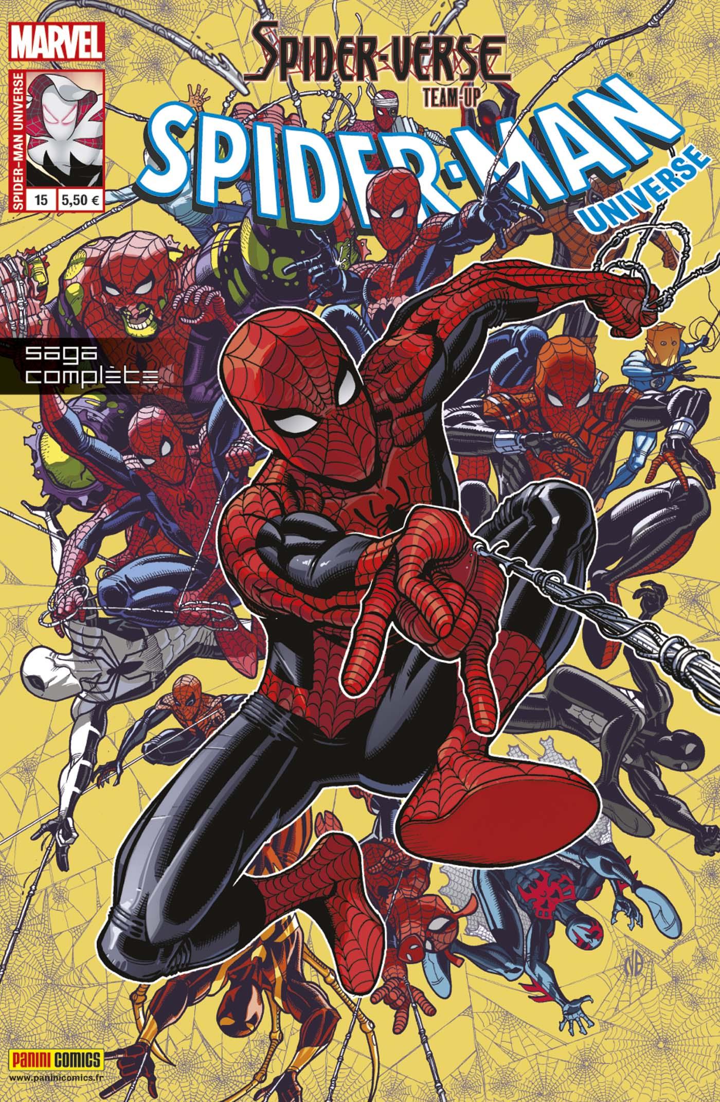 SPIDER-MAN UNIVERSE 15 : SPIDER-VERSE TEAM-UP
