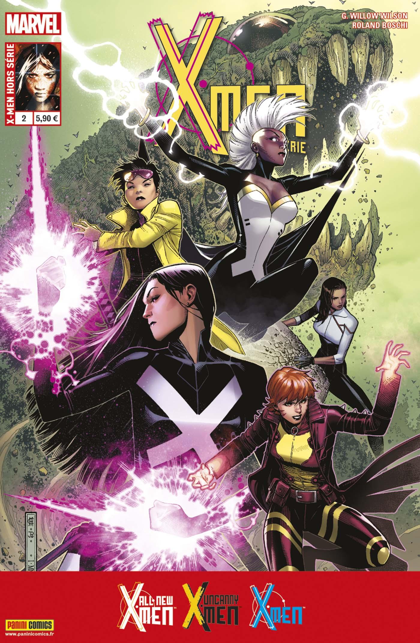 X-MEN HORS SÉRIE 2 : LA VIE SECRÈTE D'EVA BELL & UN MONDE EN FLAMMES