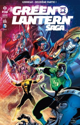 Green Lantern Saga #34