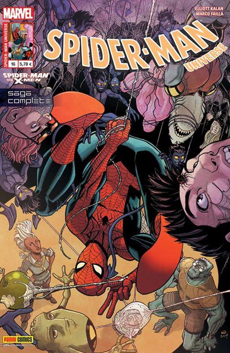 SPIDER-MAN UNIVERSE 16 : SPIDER-MAN AND THE X-MEN