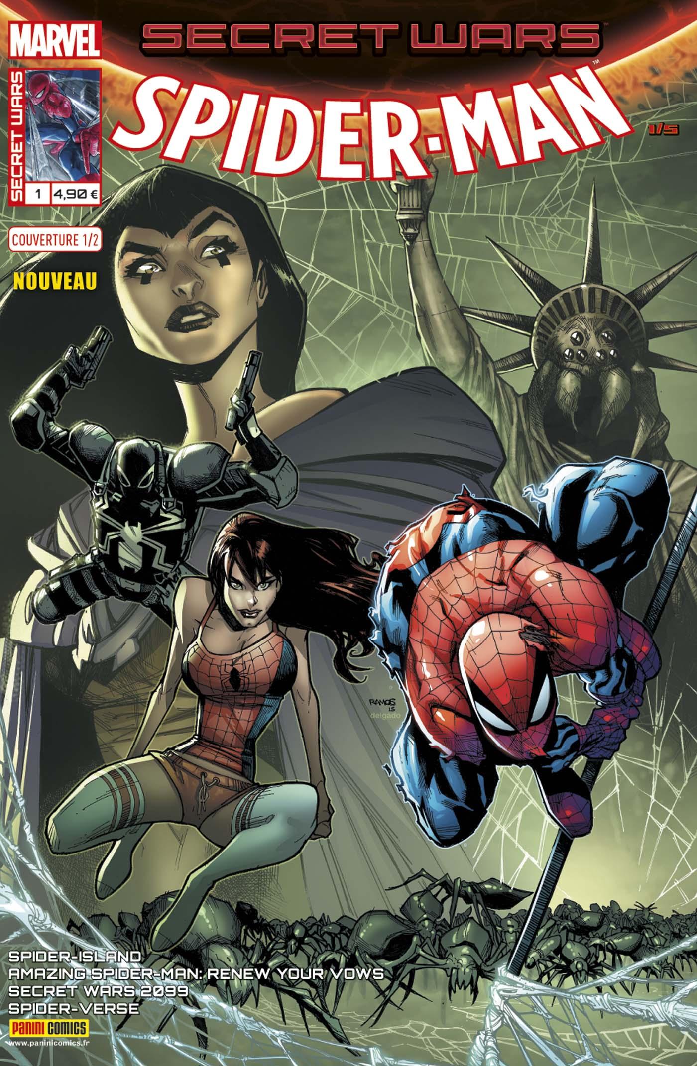 SECRET WARS : SPIDER-MAN 1 (Couv 1/2)