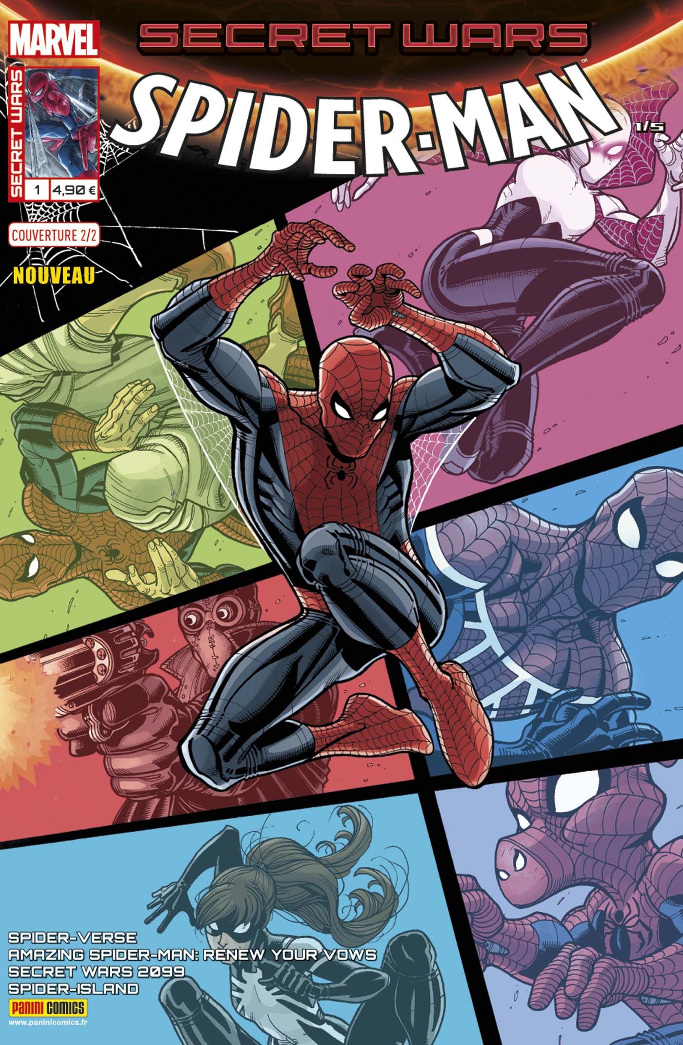 SECRET WARS : SPIDER-MAN 1 (Couv 2/2)