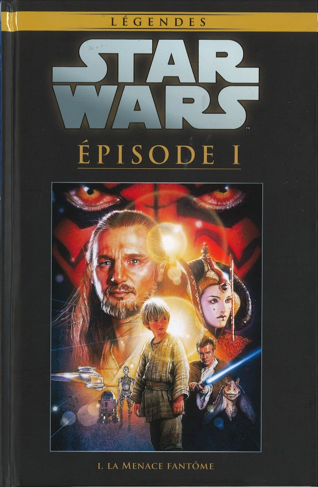Tome 23 - Star Wars Episode I : Le Menace fantôme