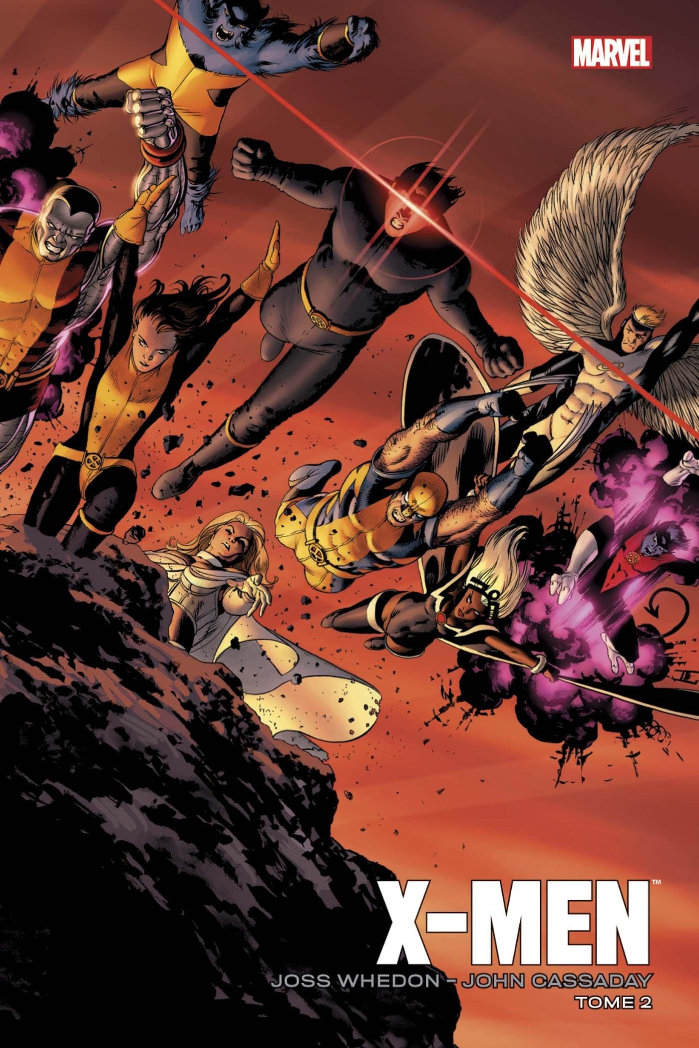 X-MEN PAR WHEDON/CASSADAY 2