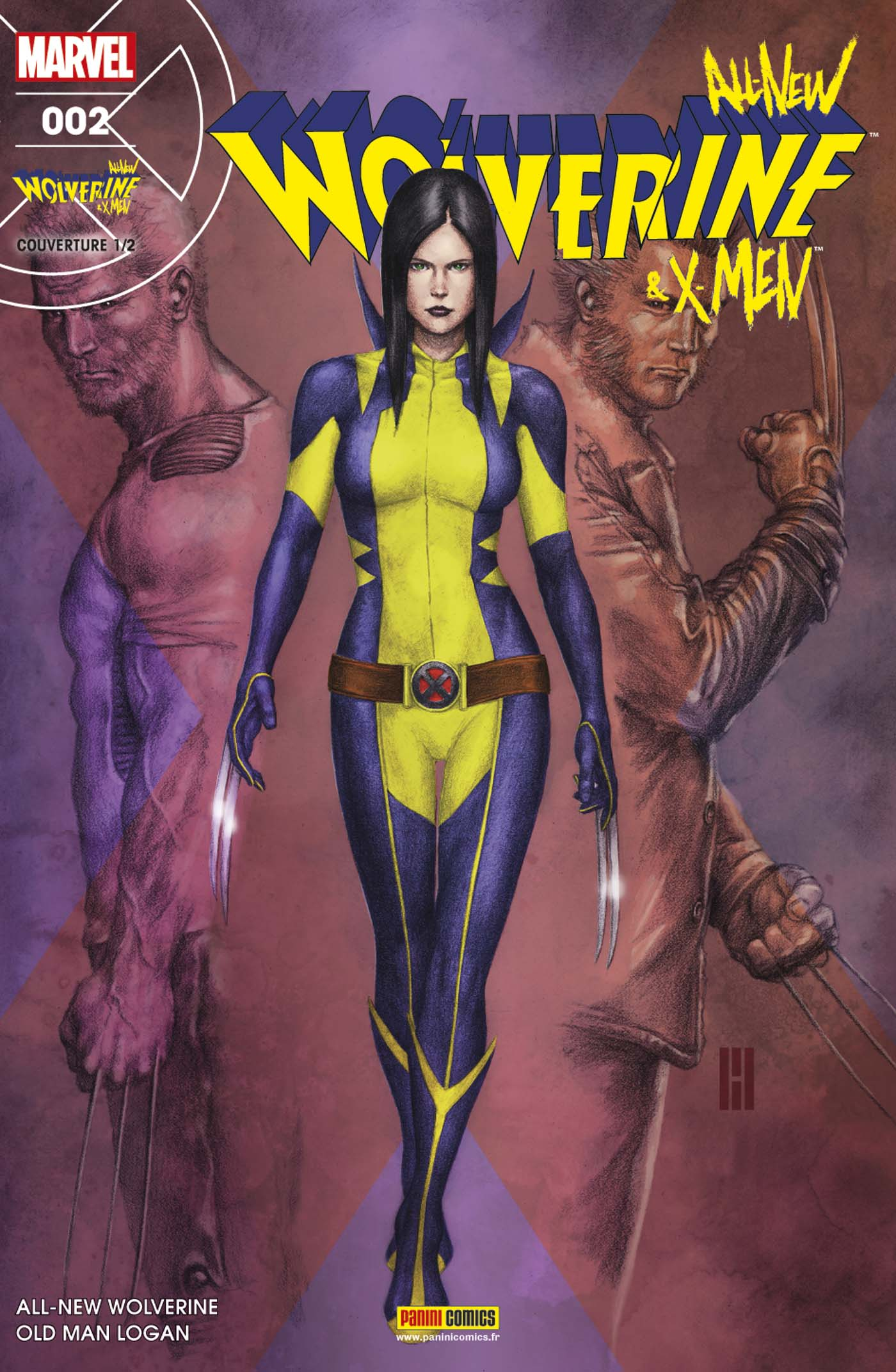ALL-NEW WOLVERINE &  X-MEN 2 (Couv 1/2)