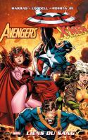 Panini comics - avengers/x-men – liens du sang