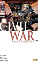 SECRET WARS : CIVIL WAR 1 (Couv 1/2)