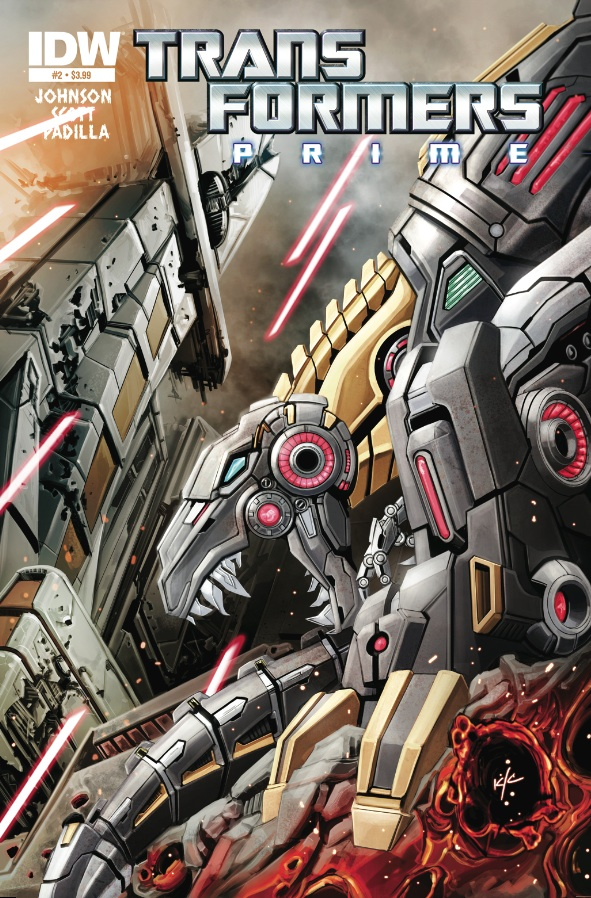 Transformers Prime Rage of the Dinobots #2 (of 4)