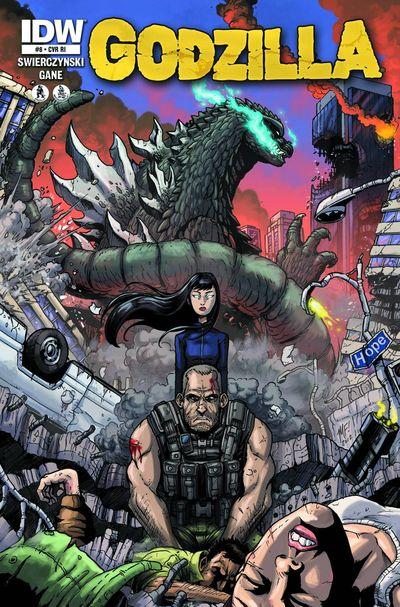 Godzilla #8