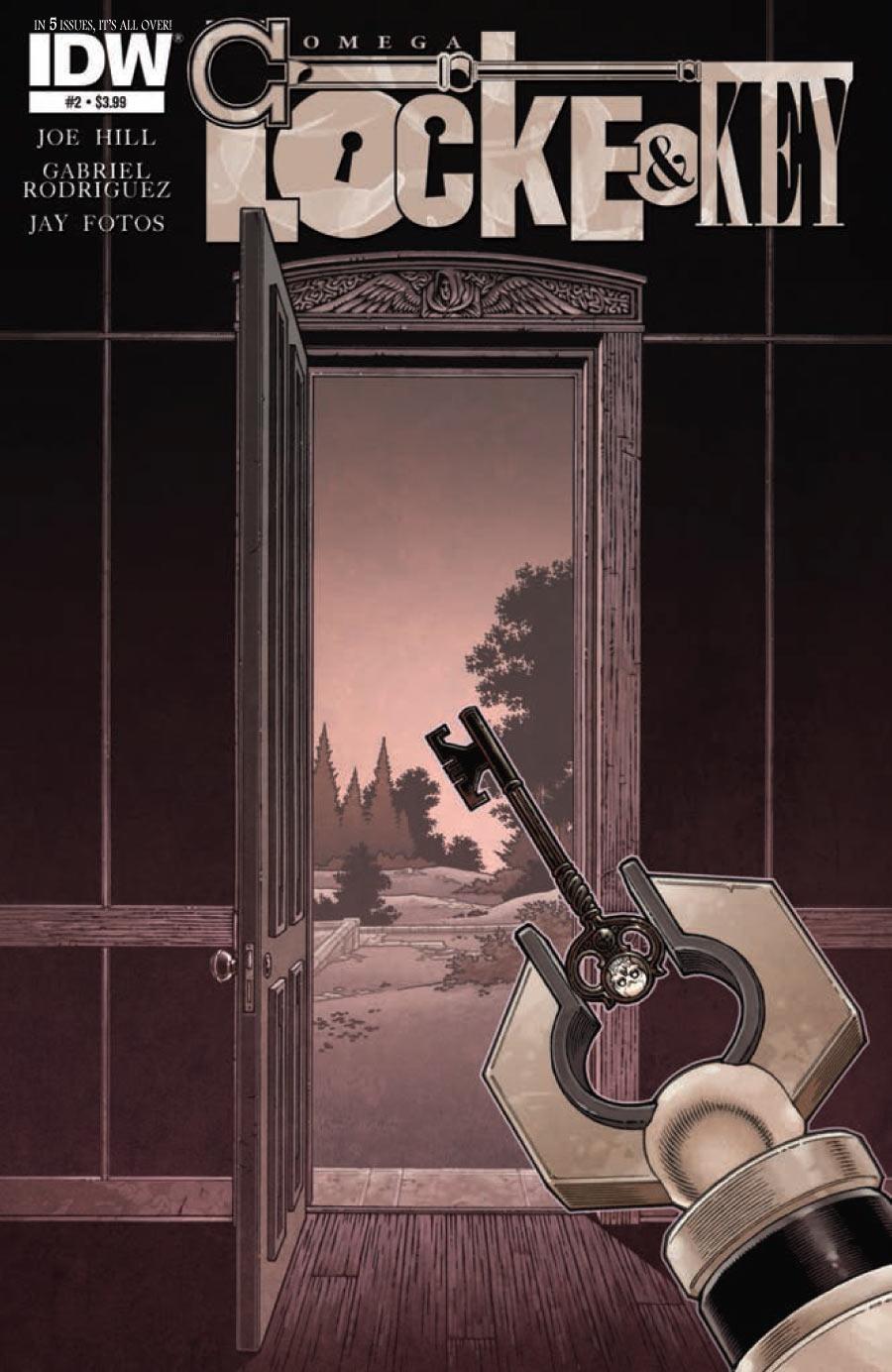 Locke & Key Omega #2 (of 7)