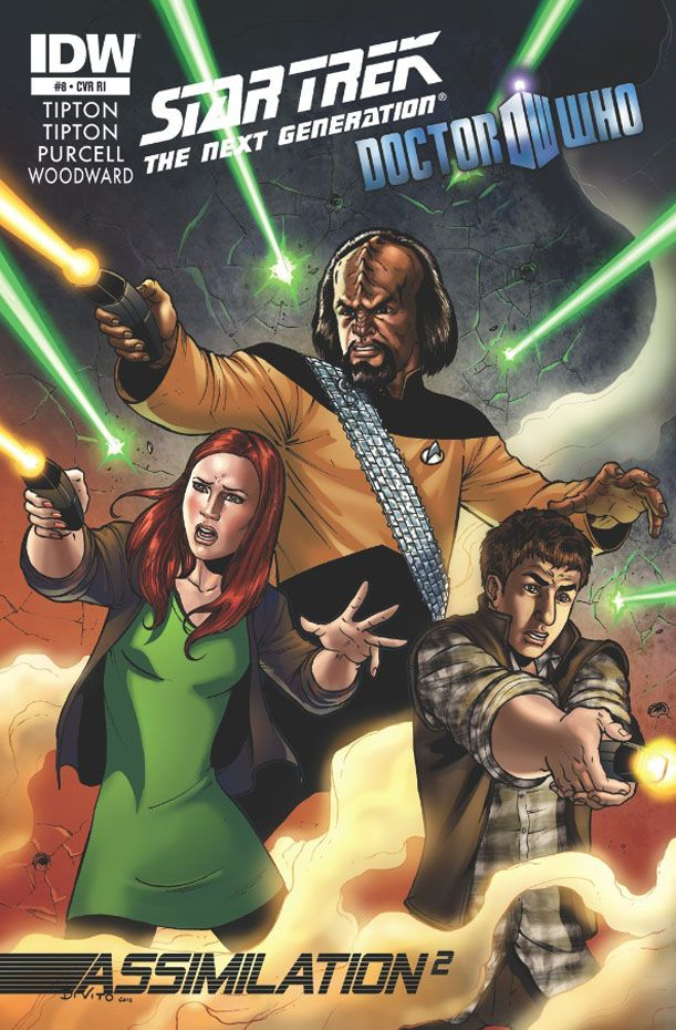 Star Trek The Next Generation Doctor Who Assimilation #8