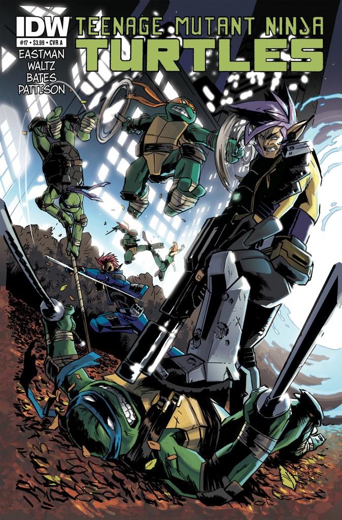 Teenage Mutant Ninja Turtles #17