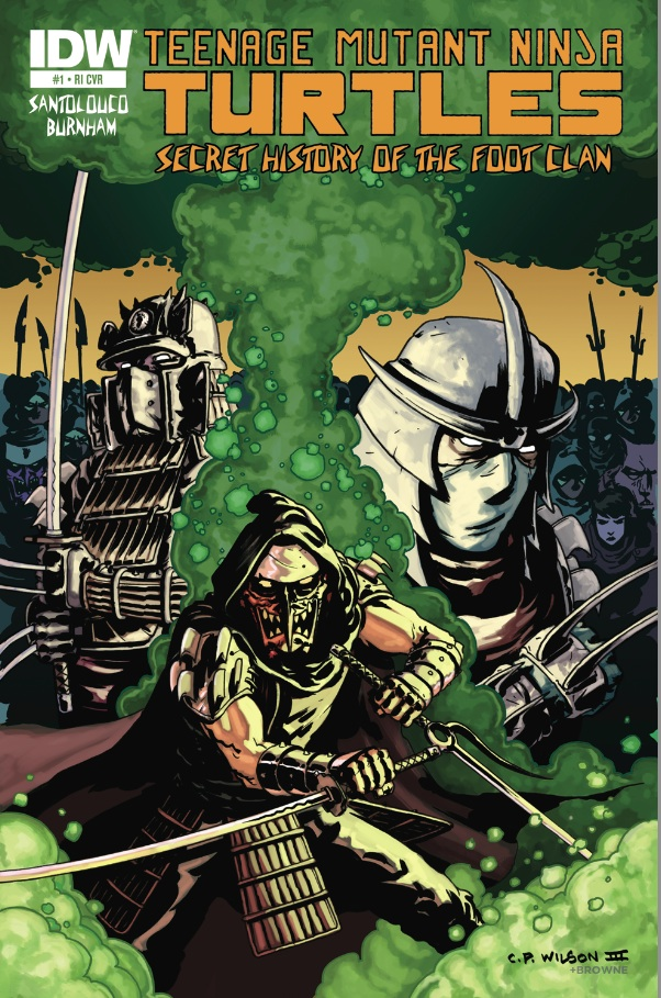 Secret History of the Foot Clan #1 (of 4)