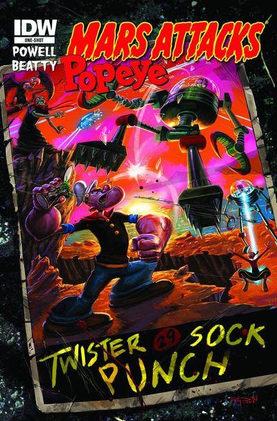 Mars Attacks Popeye