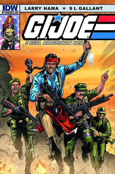 G.I. Joe A Real American Hero #186