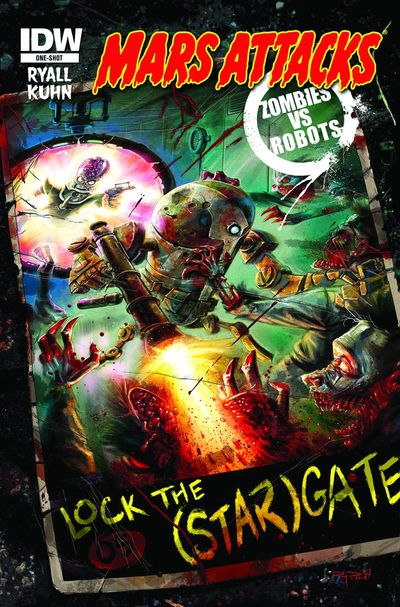 Mars Attacks Zombies vs. Robots (One Shot)