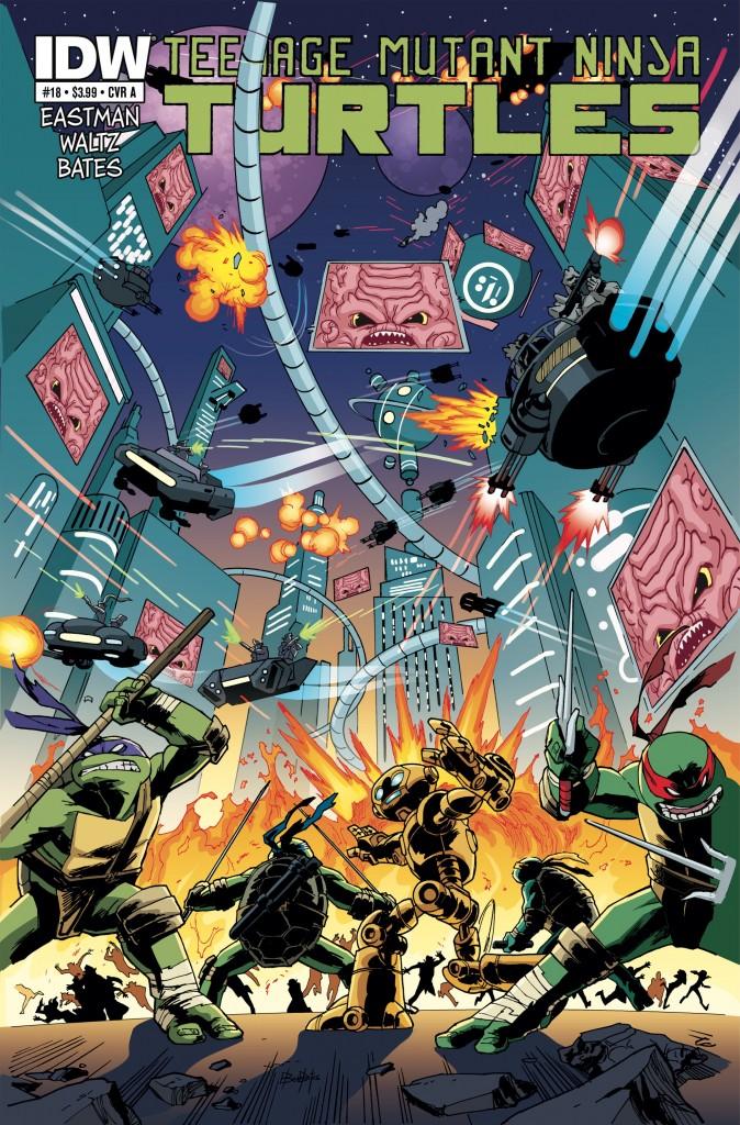 Teenage Mutant Ninja Turtles #18