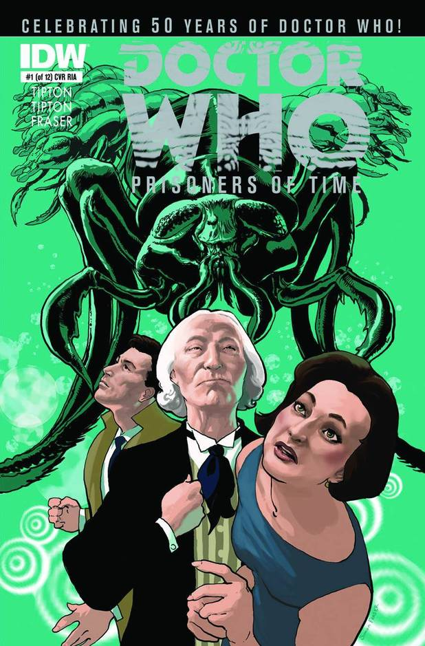 Doctor Who Prisoners Of Time #1 (of 12)