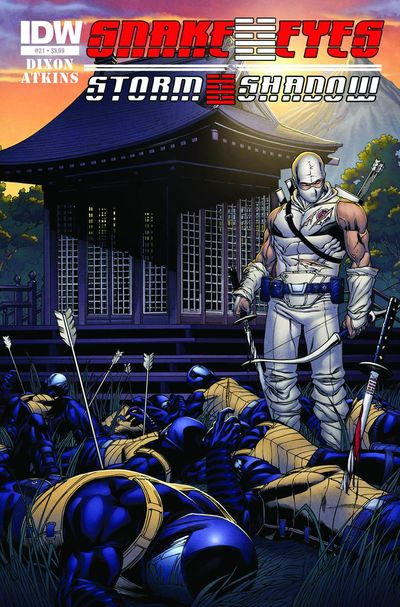 Snake Eyes & Storm Shadow #21 (of 21)