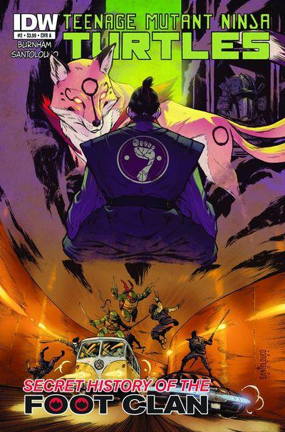 Teenage Mutant Ninja Turtles Secret Foot Clan #2 (of 4)