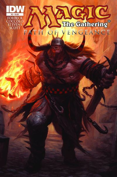 Magic The Gathering Path Of Vengeance #3