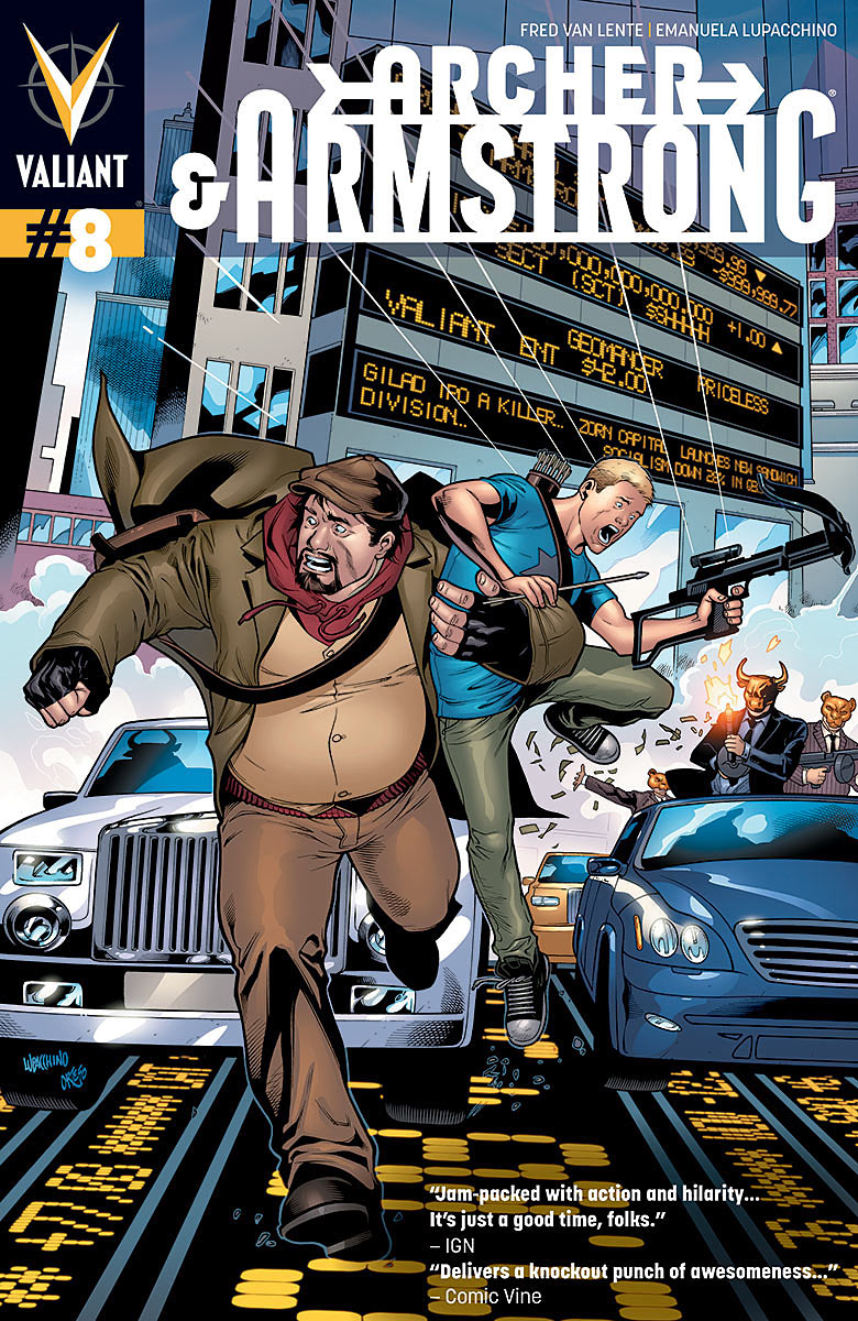 ARCHER & ARMSTRONG #8