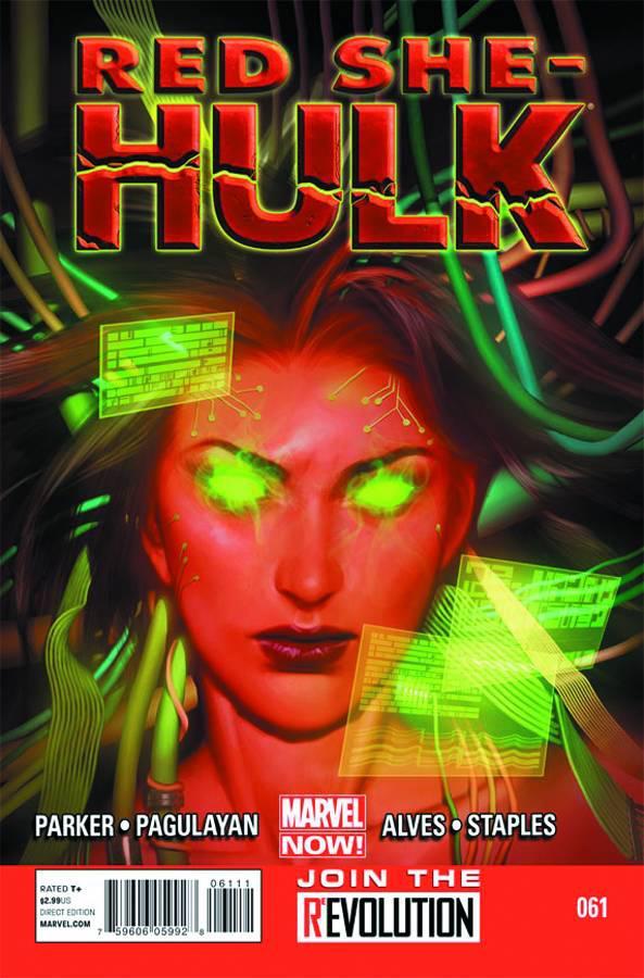 Red SHe-Hulk #61