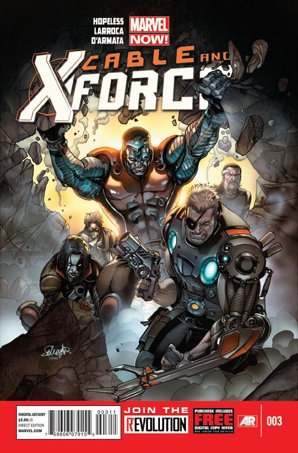 Cable and X-Force #3