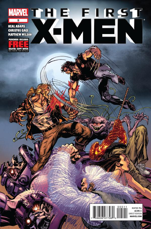 The First X-Men #5