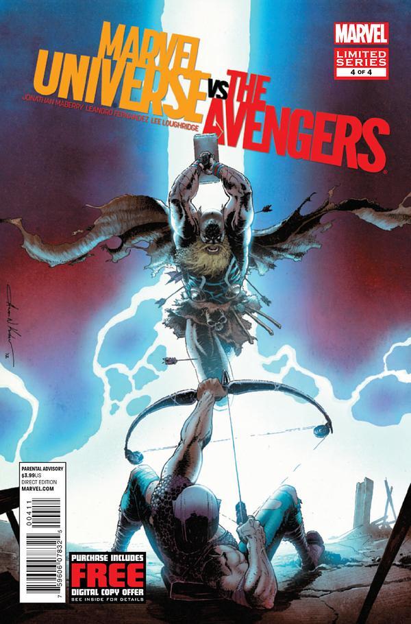 Marvel Universe Vs Avengers #4 - The Last Avenger