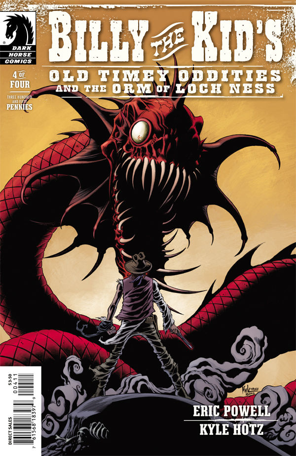 Billy the Kid's Old Timey Oddities and the Orm of Loch Ness #4