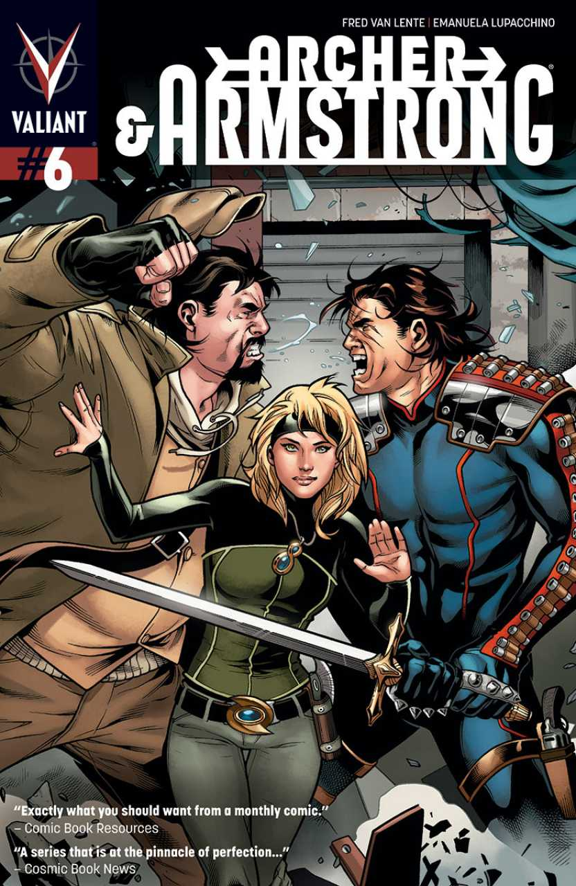 Archer & Armstrong #6