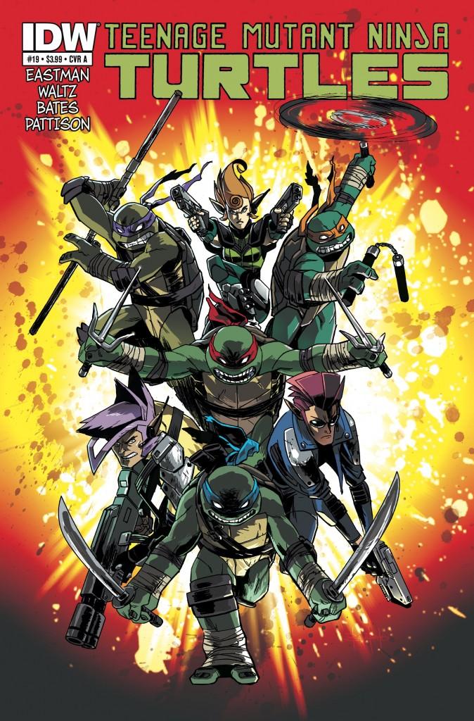 Teenage Mutant Ninja Turtles #19