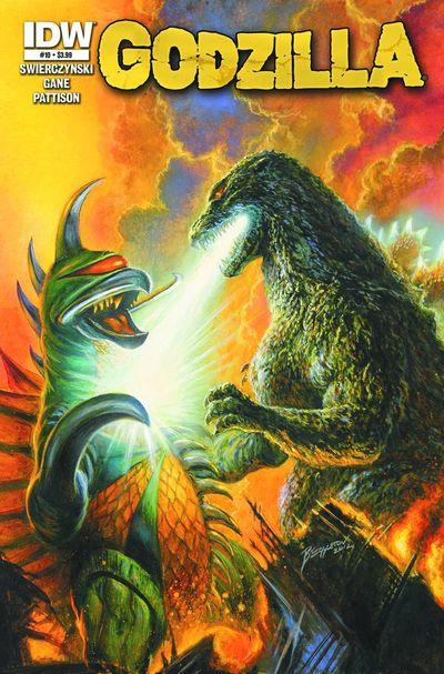 Godzilla #10