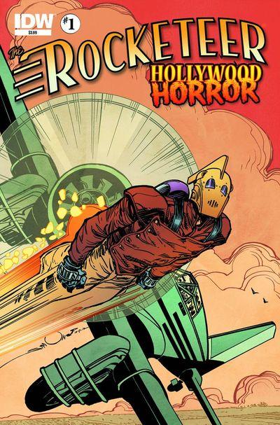 Rocketeer Hollywood Horror #1