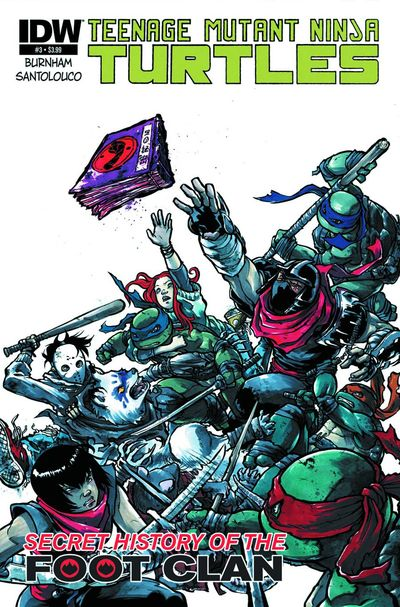 Teenage Mutant Ninja Turtles Secret Foot Clan #3 (of 4)