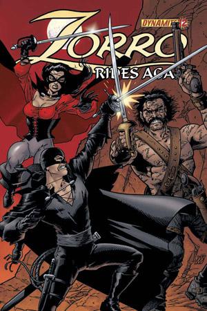 Zorro Rides Again # 12