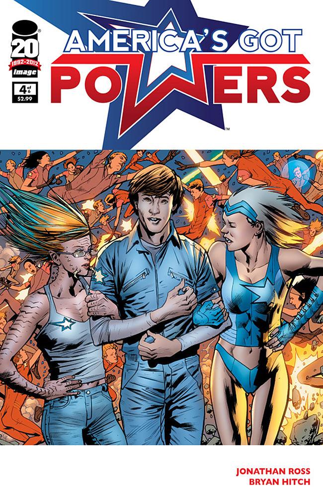 America's Got Powers #4