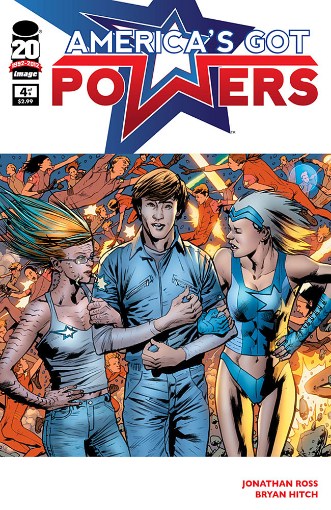 America's Got Powers #4