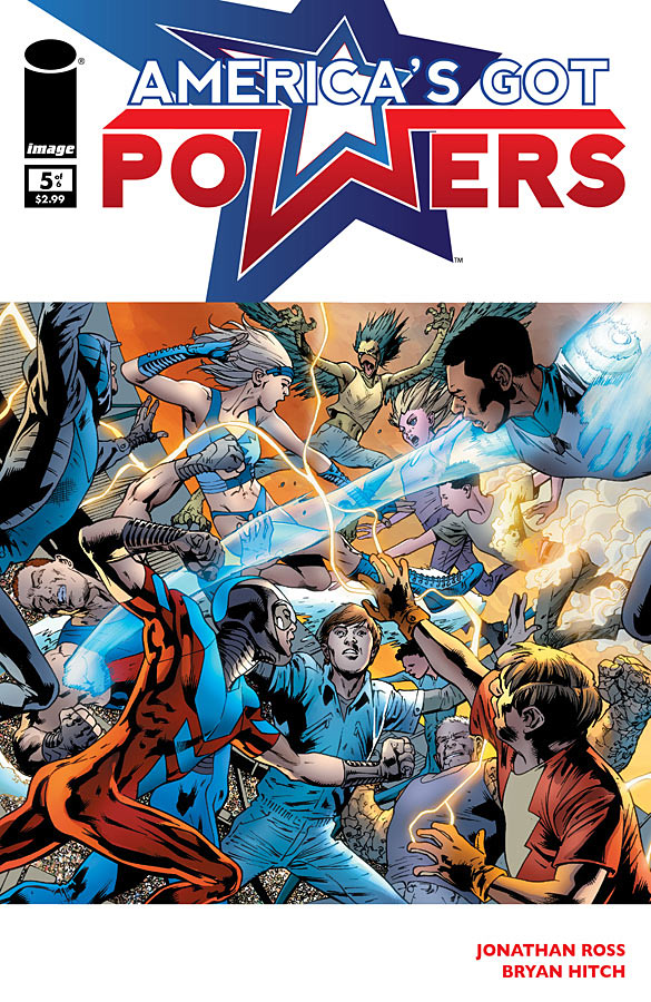 America's Got Powers #5