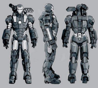 Iron man war machine jim rhodes encyclop die mdcu for Plan d iron man