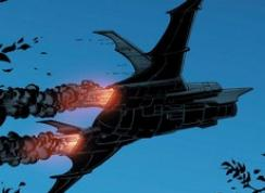Jungle Warfare [Justice League] Encyclo509_batplane